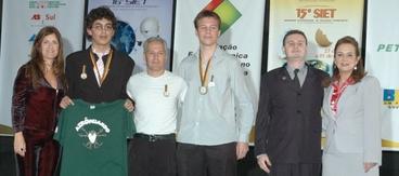 Entrega do Prêmio Inovação Tecnológica FACCAT - 2008